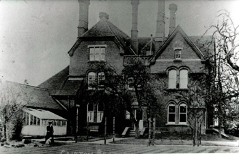 Clifton Rectory about 1900 [Z50/30/29]
